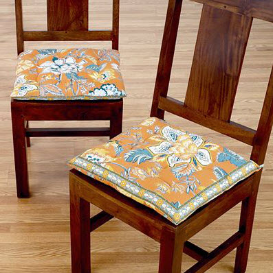 Dining room chairs cushions