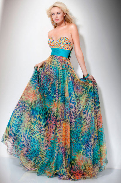 Colored Prom Dresses - Long Dresses Online