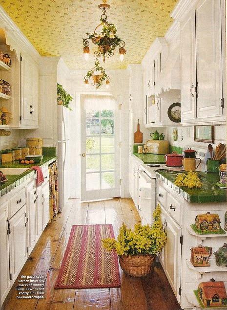 Как украсить кухню своими руками на даче фото